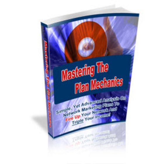 Product picture Mastering The Marketing Plans Mechanics (MRR)