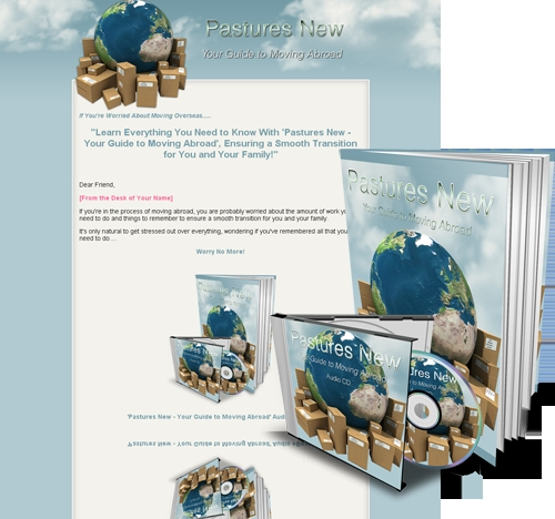 Product picture Pastures New - Your Guide To Moving Abroad (MRR)