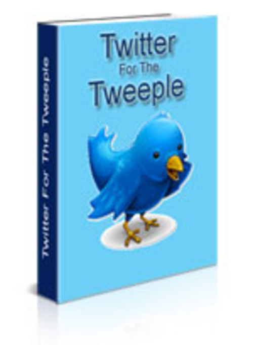 Product picture Twitter 4 Tweeple (PLR)