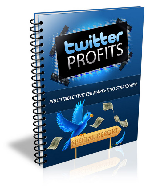 Product picture Twitter Profits (PLR)