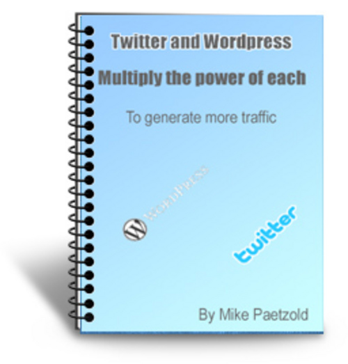 Product picture Twitter and WordPress (PLR)
