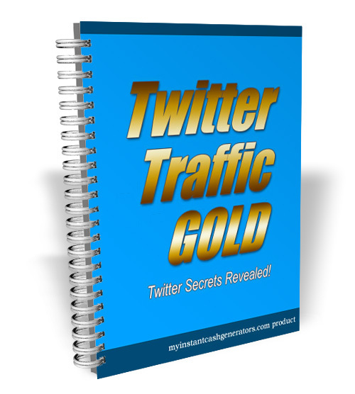 Product picture Twitter Traffic Gold (MRR)